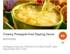Gypsy Kitchen, Mayonnaise, Cheeseburger Chowder, Preserves, Pineapple, Lime, Soup, Preserve, Limes