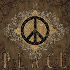 size: Stretched Canvas Print: Peace by Brandon Glover : Artists Using advanced technology, we print the image directly onto canvas, stretch it onto support bars, and finish it with hand-painted edges and a protective coating. Paz Hippie, Hippie Peace, Hippie Love, Hippie Art, Happy Hippie, Hippie Chick, Hippie Things, Boho Hippie, Boho Gypsy