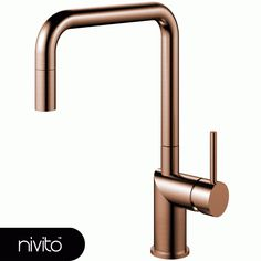 Nivito - Rhythm Industry Brushed Copper, Kitchen tap with ripped handle and nozzle Simple Interior, Nordic Interior, Minimalist Interior, Best Interior Design, Minimalist Decor, Luxury Interior, Interior Styling, Interior Decorating, Minimalist Bathroom