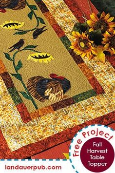 Transform your Thanksgiving table from ordinary to extraordinary with Debbie Field's charming table runner.