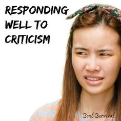 """""""Words, Criticism & Imperfect Saints"""" Criticism, anger, sarcasm: Words have an effect on our lives and the lives of those around us. How should we use our words and how should we respond when someone criticizes us? - June 14 - Soul Survival"""