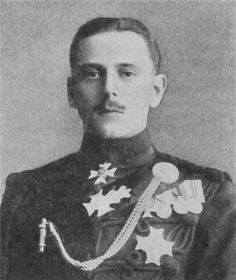 Last Grandchild of Queen Victoria - Prince Maurice of Battenberg (1891 – 1914)  member of the Hessian princely Battenberg family & the extended British Royal Family, the youngest grandchild of Queen Victoria.His father was Prince Henry of Battenberg, the son of Prince Alexander of Hesse and by Rhine & Julie Therese née Countess Hauke. His mother was Princess Henry of Battenberg, the fifth daughter & the youngest child of Queen Victoria & Albert