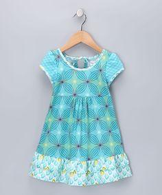 Teal Melanie Dress - Infant, Toddler & Girls