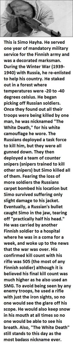 Funny pictures about The most badass sniper in history. Oh, and cool pics about The most badass sniper in history. Also, The most badass sniper in history.