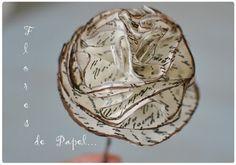 CASCARÚ DECORACIÓN: Flores...de papel