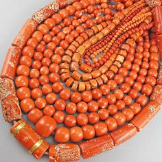 How to identify old coral beads by goodoldbeads. Read more....