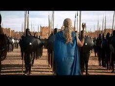 Epic Dragon Scene Game of Thrones Season 3 Daenerys Targaryen Rise to Power (Part 1) (HD) - YouTube
