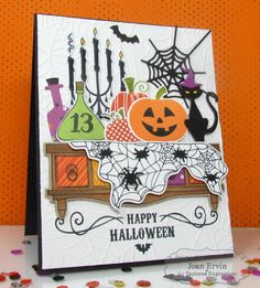 Spooky Shelf by Joan Ervin - Taylored Expressions
