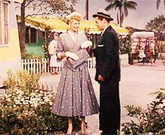 Lucille Ball and Desi Arnaz, ¨The long,long trailer¨, 1953
