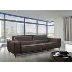 Mokambo Leather Sofa, Gamma International, Italy