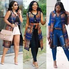 african fashion ankara Ankara Jackets are globally rocked on any stage in the world. Best Ankara Jackets styles here are unbeatable styles you would really love to try out African Fashion Designers, African Fashion Ankara, Latest African Fashion Dresses, African Inspired Fashion, African Dresses For Women, African Print Dresses, African Print Fashion, Africa Fashion, African Attire
