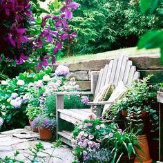 Cottage style gardens