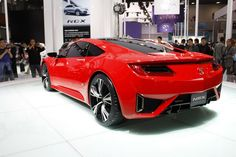 Acura NSX 2015 Red