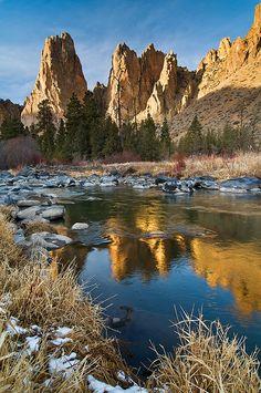 Smith Rock, Oregon; photo by Michael Bollino