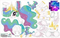 MLP Princess Celestia, part ? My Little Pony Party, Fiesta Little Pony, My Little Pony Craft, All My Little Pony, My Little Pony Friendship, Festa Jurassic Park, Princesa Celestia, Plushie Patterns, Imagenes My Little Pony