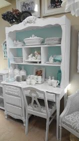 For the love of white: Painting Furniture Tutorial