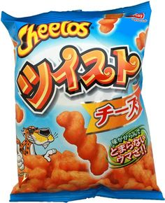 Frito-Lay Cheetos Twist ~ Cheese Flavor $2.00 http://thingsfromjapan.net/frito-lay-cheetos-twist-cheese-flavor/ #Japanese frito lay #Japanese cheetos #Japanese snack