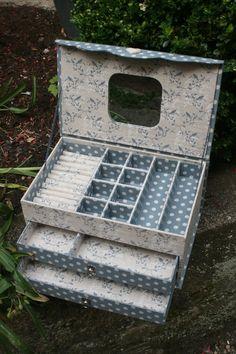 The Edwardian Lady Box Set - Happiness Is Cross Stitching Cardboard Paper, Cardboard Furniture, Cardboard Crafts, Diy Furniture, Paper Crafts, Diy Storage, Diy Organization, Carton Diy, Diy Karton
