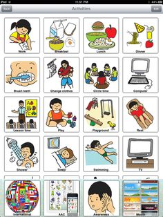 Hearty SPIN: Intl_AAC_Awareness_Month Pecs Pictures, Teaching Vocabulary, Autism Support, Learn English, Homeschool, Cards, Languages, Index Cards, Autism