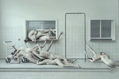 Expressive Photos Of Nude, Contorted Bodies That Reflect On The Human Condition