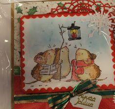 Bissen buduaari: Joulukortteja edelleen