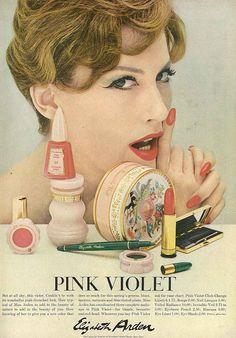 Vogue 1958 MJR for Elizbeth Arden