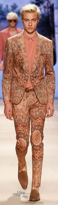 Etro Spring 2016 Menswear Zippertravel.com Digital Edition