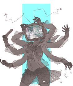 (Open Role Play) *twitches, glitches and goes insane having my screen put a scared, twisted and mad face with words saying* HELP ME!
