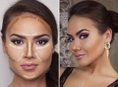 Highlighting/Contouring Face Chart