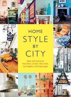 Explore the world's most stylish and eclectic residences in this inspired armchair décor guide. Home Style by City captures the essense of five design-forward cities, featuring gorgeously decorated homes from each that reflect local style and inspire internationally. Part city tour—including must-visit flea markets, bits of colorful history, and curated lists of music, books, and films—and part design resource for achieving the various looks, this refreshing perspective on décor shows how…