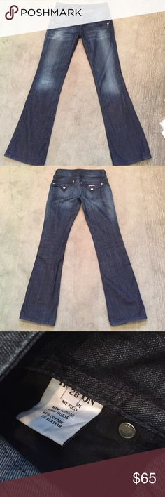 """Hudson signature boot cut petite jeans. 26"""" waist Hudson signature boot cut petite jeans. Waist 26"""".  Inseam 30.""""  In great condition. Hudson Jeans Jeans Boot Cut"""
