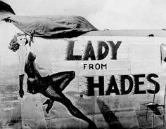 "B-24 Liberator - ""Lady From Hades""."
