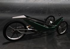 Land Rover Recumbent Bike Concept