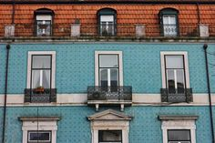 The Tiled Buildings and Street Art of Lisbon, Portugal