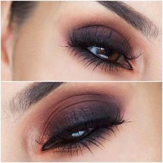 ✧・゚. angrydinosaurx ✧* Amazing blended brown and black eyeshadow