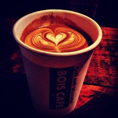 Love in a cup. #latteart #coffee