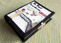 Olympia Le Tan inspired book clutch