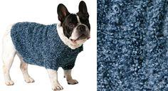 Le fond de l'air est frais, pour les petits chiens aussi ! Voici un modèle de manteau facile à tricoter au point jersey et en côtes 2/2, dans un fil doux et chaud. Taille (selon le poids ...