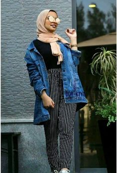 Fall hijab in oversized outwears – Just Trendy Girls