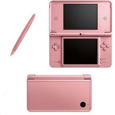 New Nintendo DSi XL Handheld Game Console Metallic Rose.  Vote for J C Merchandise.biz @ www.missionsmallbusiness.com