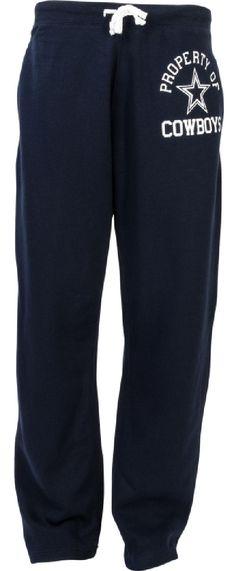 Dallas Cowboys Mens Blue Bradsley Fleece Sweatpants $39.95
