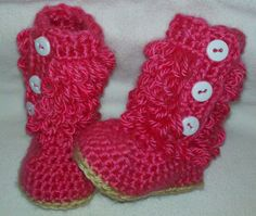 Crochet+Pattern+Central | Crochet Pattern Central - Free Shoe And Sandal Crochet Pattern