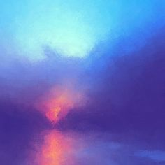 Abstract Landscape Digital Art - Morning Song by LC Bailey