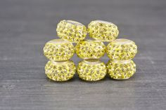 rhinestone beads,11x7mm rondell beads, crystal beads,copper beads,copper beads,solid color charm beads