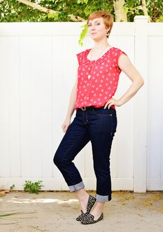 Made: Ginger Jeans | A Fashionable Stitch