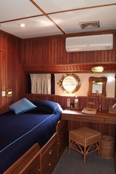 Pandaw Cruise's stateroom