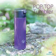 I can't say enough about the Pop Top Tumblers! These are durable stainless steel with a built-in infuser and they'll keep your tea hot or cold for HOURS!! And they come in a variety of cute colors!#steepedtea #lovinmysteeped #tumblers #teainfusers #looseleaftea #caffine   #fall #recipes #energy #cheeseball #football #gameday #courtneyscupoftea #tea #blacktea #whitetea #greentea #pumpkin #pumpkinspice #ornament #christmas #holiday