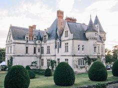The fabulous Chateau de la Bourdaisiere, in the Loire Valley I The Yellow Table