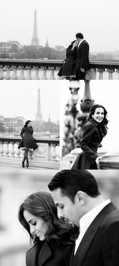 Photo shoot in Paris after the wedding by Studio Cabrelli