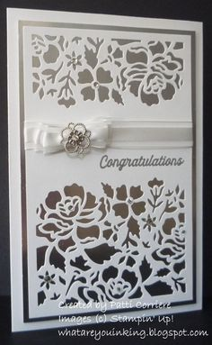 A blog about creating cards, 3-D items and digital scrapbook pages using Stampin' Up! products.